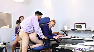 Daddy, Group fuck, Office sex