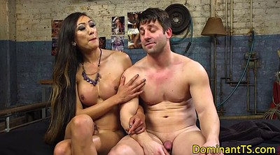 Hunk, Asian shemale, Asian hunk, Shemale bdsm