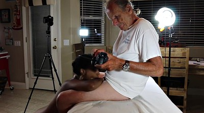 Pov blowjob, Model, Interracial blowjob, Old