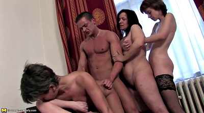 Mature gangbang, Private, Granny gangbang, Mature group, Mature and young, Granny group