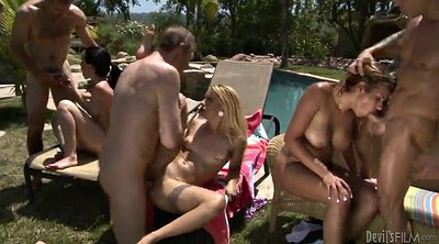 Orgy, Summer, Summer day