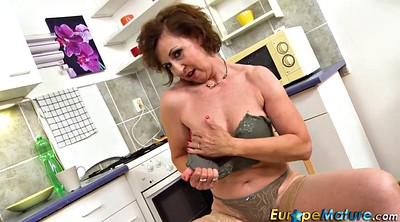 Mature solo, Granny solo, Playing, Mature masturbating