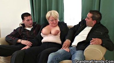 Threesome young, Old young threesome, Mature young