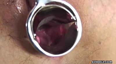 Gyno, Asian gaping, Japanese dildo, Hole, Japanese blow, Japanese show