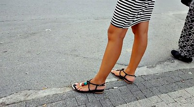 Public, Candid, Toes