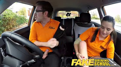 English, Driving, Fake school, Fake driving school, Drive