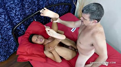 Asian old, Old daddy, Asian daddy, Old asian, Licking ass