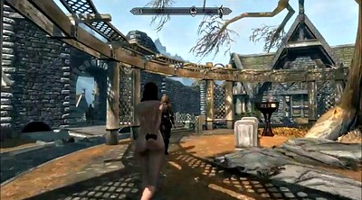 Cartoon, Public bdsm, Skyrim