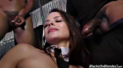 Interracial gangbang, Keisha grey