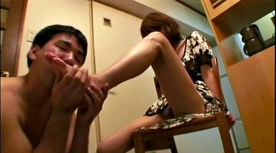 Feet worship, Asian mature