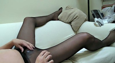Crossdresser, Crossdressers, Pantyhose masturbation