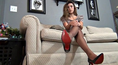 Foot, Teen pantyhose, Pantyhose teen