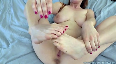 Feet fetish, Feet solo