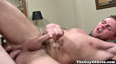 Gay first, Muscle, Office gay, Office fuck