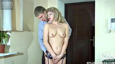 Blowjob, Very young, Blonde mature