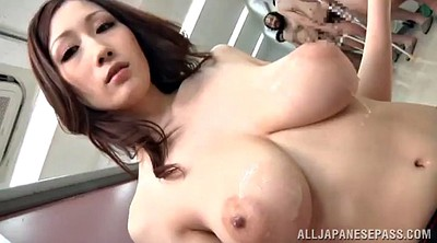 Japanese beauty, Asian handjob, Japanese cum, Cumshot on tits, Asian tit
