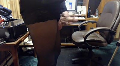 Crossdress, Pantyhose crossdresser, Masturbate