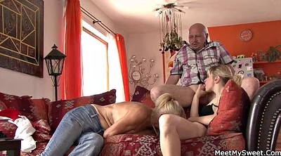 Mom, Family, Old mom, Very young, Families, Family threesome