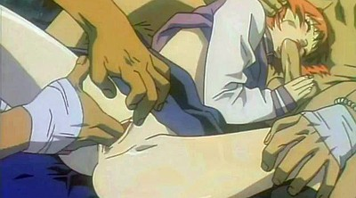 Japanese threesome, Double anal, Japanese group, Japanese double, Cartoon sex