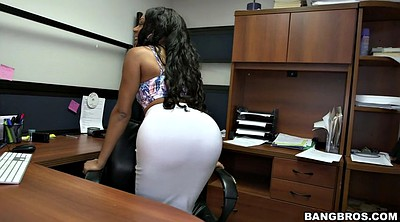 Secretary, Giant ass, Ass worship