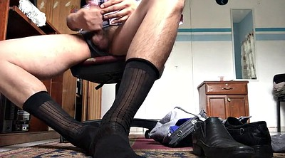 Masturbation, Socks, Scissor, Sock cum, Gay sock, Socks gay