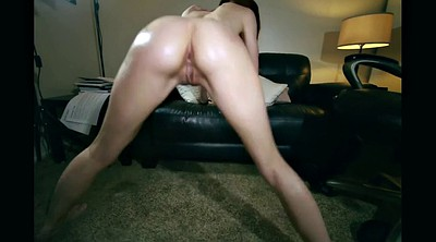 White, Dancing girl, Butt dance