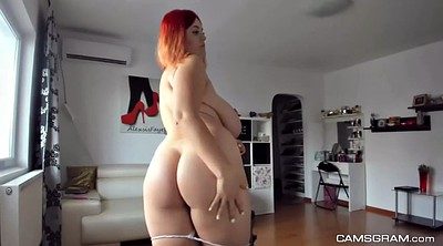 Huge tits, Huge natural, Redhead amateur