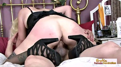 Old and young, Mature wife, Femdom granny