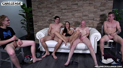 Hardcore, Czech casting, Mea melone, Group sex orgy