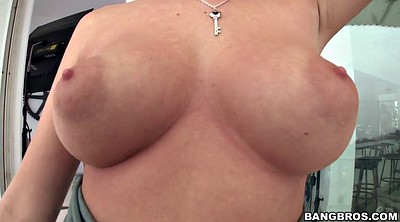 Water, Huge natural tits, Tease show, Huge tits solo