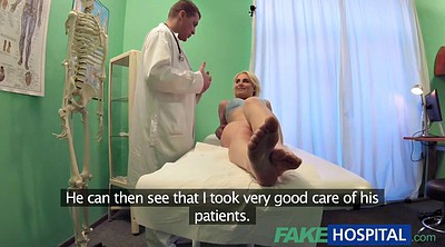 Czech, Hospital, Fake hospital, Wet pussy, Czech doctor