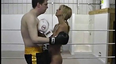 Boxing, Nude