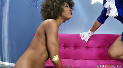 Behind the scenes, Backstage, Behind-the-scenes, Behind scenes, Misty stone, Black and white