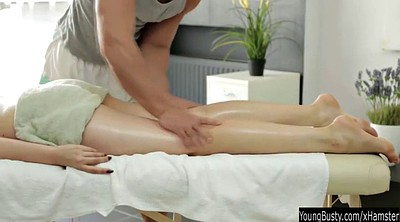 Teens, Oiled, Oil massage