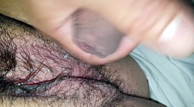 Bbw hairy, Red, Clit
