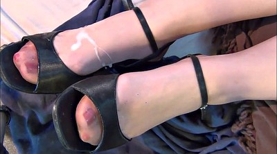 Shoe, Nylons, Stocking foot