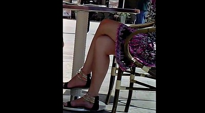 Candid, Legs, Sandals