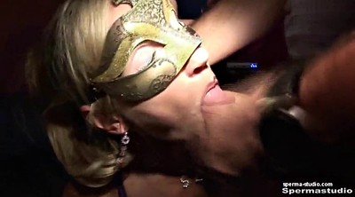 Bukkake, German, Creampie gangbang, Cum in mouth