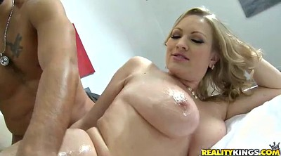 Oil massage, Hot milf