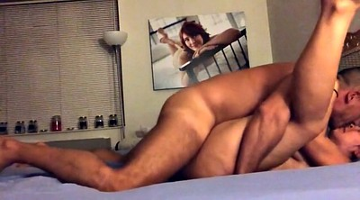 Couple, Riding creampie, Homemade couple