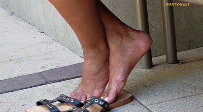 Mature black, Mature outdoor, Mature foot, Ebony mature