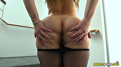 Dani daniels, High heels, Black pantyhose