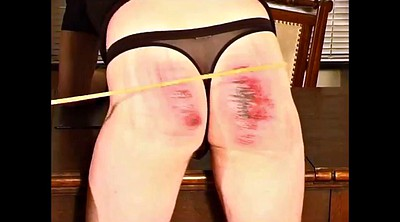 Caning, Femdom caning, Caned