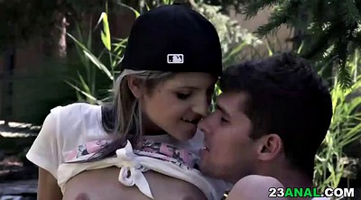 Ass to mouth, Small ass anal, In mouth, Garden, Anal small tits