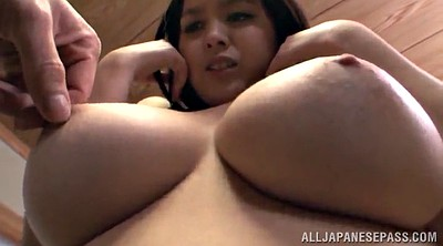 Natural tits, Japanese big tits, Bubble, Natural hairy, Asian cumshot