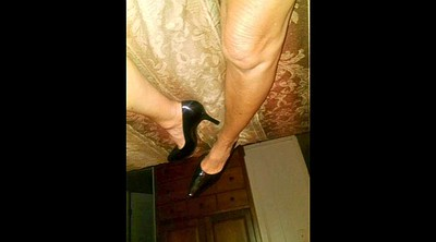 Blonde mature, Milf feet, Mature feet