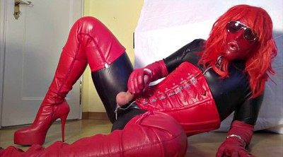 Glove, Gloves, Queen, Leather, Crossdressers, Gay boots