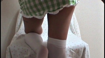 Upskirt, Japanese foot