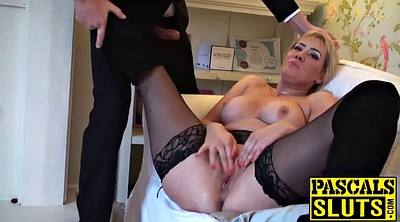 Masturbating, Milf stocking