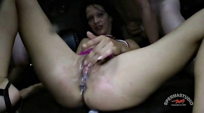 Cum compilation, Creampie compilation, German gangbang